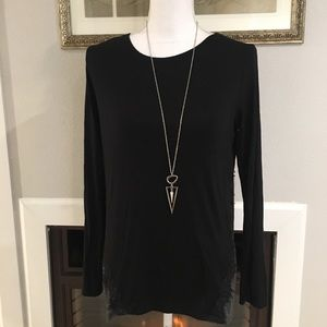 Loveapella Laced Back Top